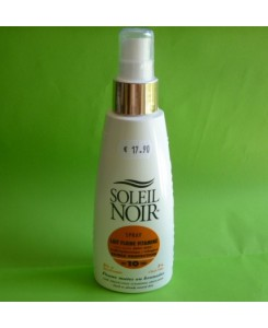 Spray lait fluide faible protection - Soleil Noir