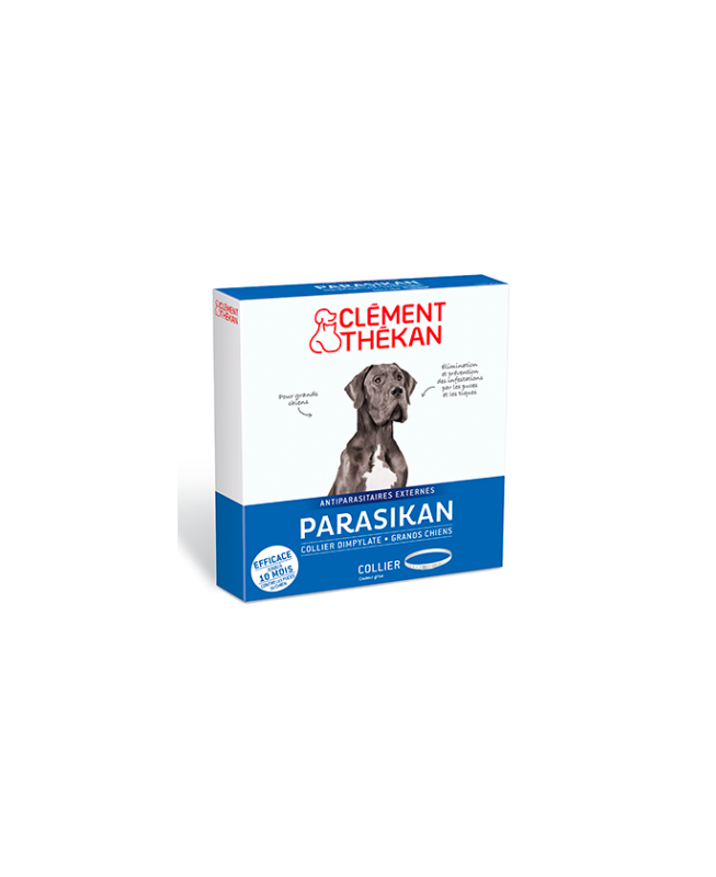 Clément Thékan - Parasikan collier anti-parasitaire Grands chiens