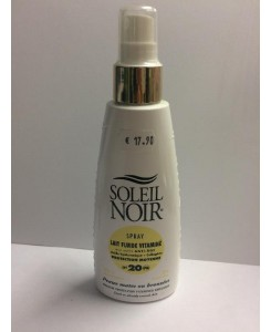 Spray lait fluide protection moyenne SPF 20